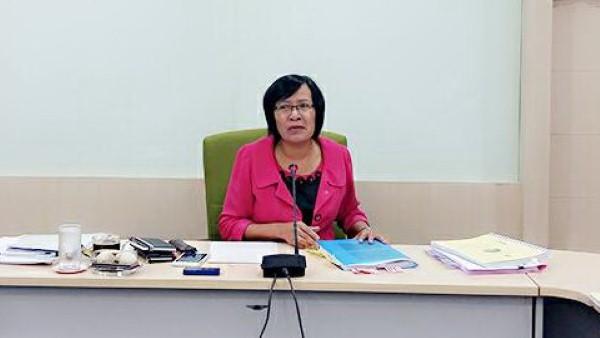 ทช.ประชุมผู้บริหารและติดตามเร่งรัดการใช้จ่ายงบประมาณ 2559