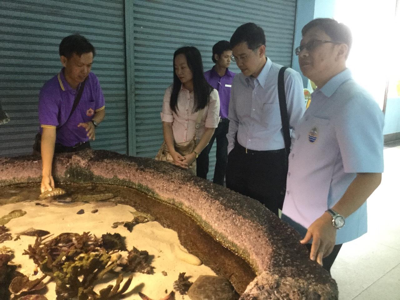 ทช.ติดตามความคืบหน้าการบริหารเงินทุนหมุนเวียนสถานแสดงพันธุ์สัตว์น้ำภูเก็ต