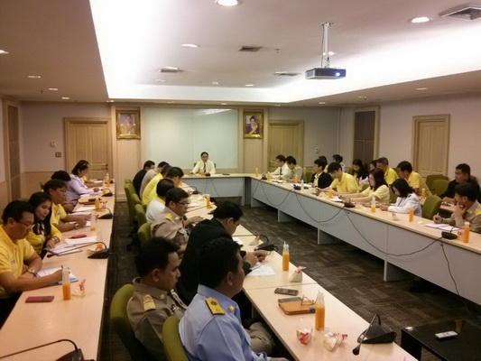 ทช.ประชุมผู้บริหารกรมทรัพยากรทางทะเลและชายฝั่ง ครั้งที่ 5/2557