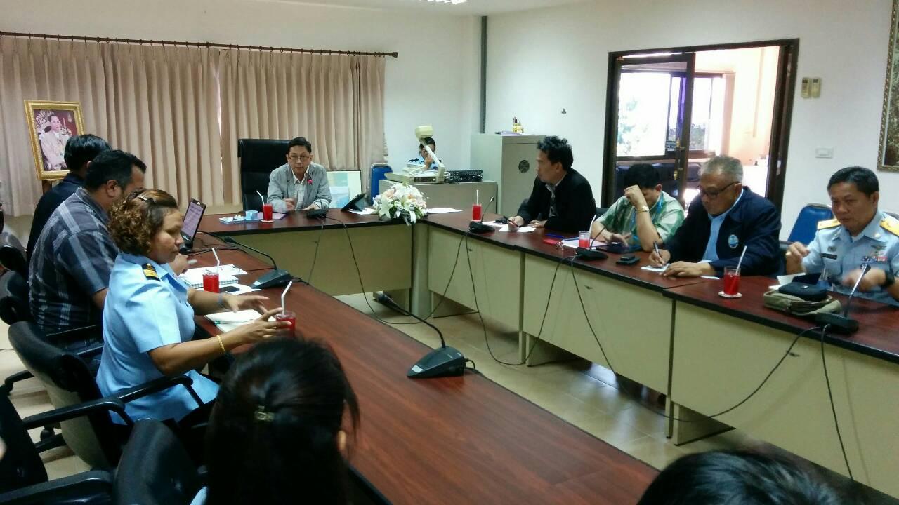 อทช.ลงพื้นที่ศูนย์วิจัยและพัฒนาทรัพยากรทางทะเลชายฝั่งอ่าวไทยตอนล่าง