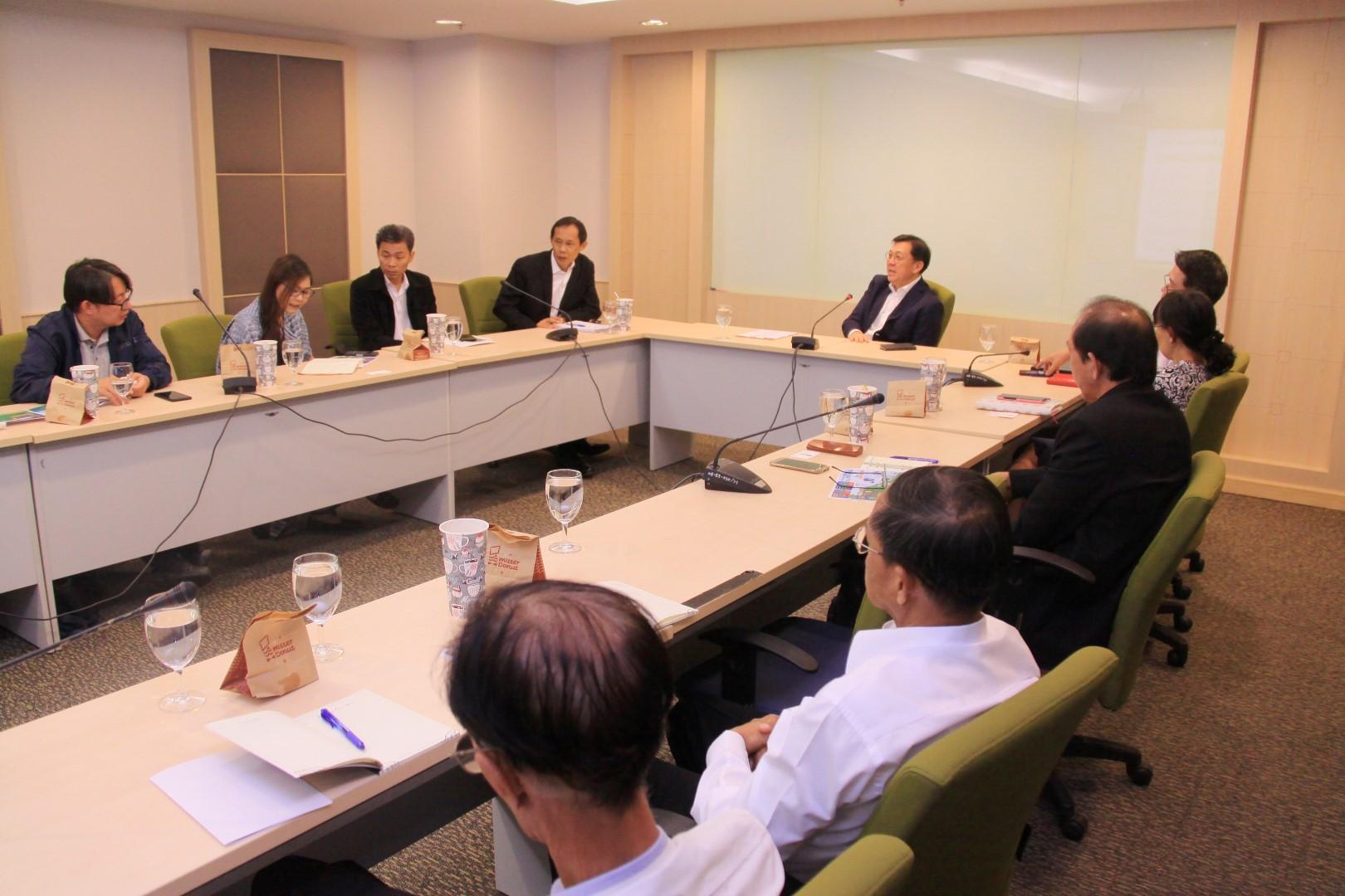 ทช. จัดประชุมรับทราบความก้าวหน้าเกี่ยวกับการจัดตั้งทุ่นกักขยะ (BOOM)