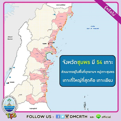 เกาะในประเทศไทย : จังหวัดชุมพร