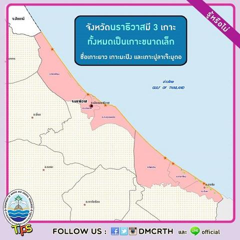 เกาะในประเทศไทย : จังหวัดนราธิวาส