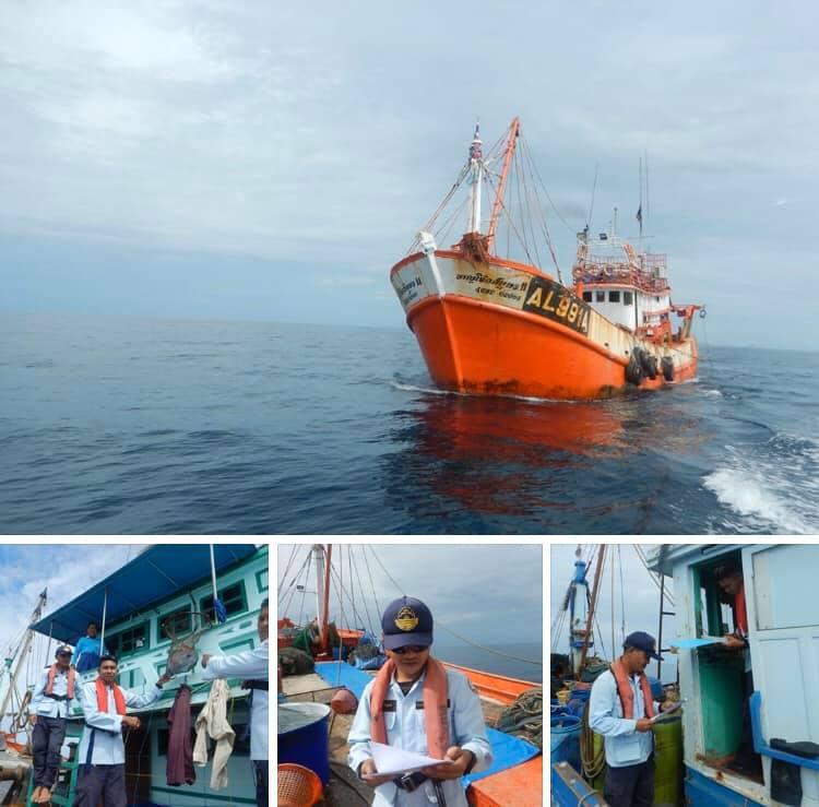 ตรวจเรือประมงทะเลตรัง เอกสารครบตามระเบียบ IUU
