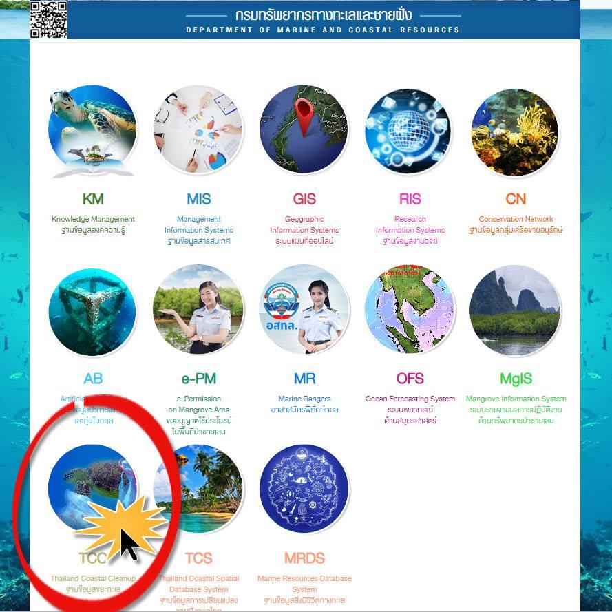 ระบบการบริหารจัดการขยะทะเล หรือ TCC