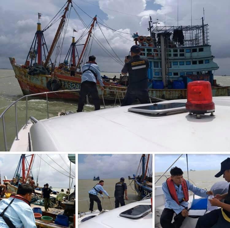 ตรวจเรือประมงปัตตานี เอกสารครบตามระเบียบ IUU
