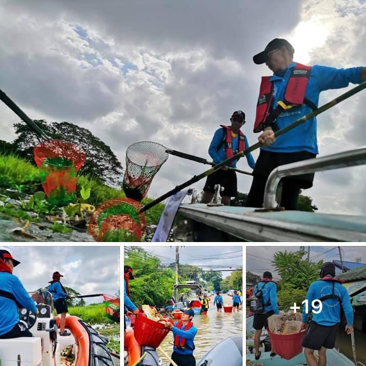 เริ่มแล้ว ฟื้นฟูเมืองอุบลราชธานี ทช. ร่วมเก็บขยะตกค้างเขตวารินชำราบ