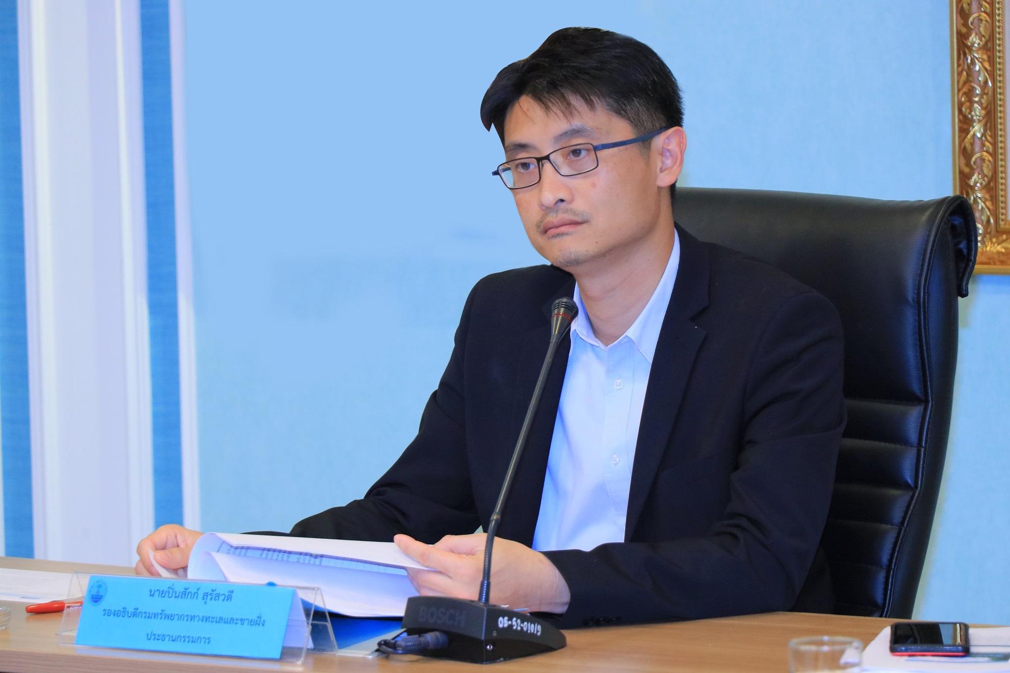 ทช. จัดประชุมคณะกรรมการบริหารเงินทุนหมุนเวียนสถานแสดงพันธุ์สัตว์น้ำ จ.ภูเก็ต ครั้ง 1/2562