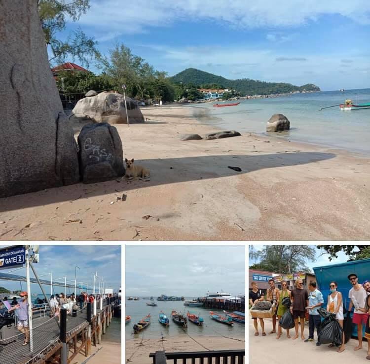 ตรวจความเรียบร้อยทางทะเล รับนักท่องเที่ยวเกาะเต่า