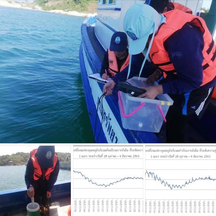 ติดตามการเปลี่ยนแปลงอุณหภูมิน้ำทะเลเกาะมันใน ระยอง โดยรวมปกติดี