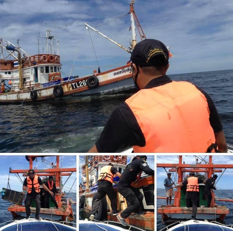 ตรวจเรือประมงชลบุรี เอกสารครบตามระเบียบ IUU