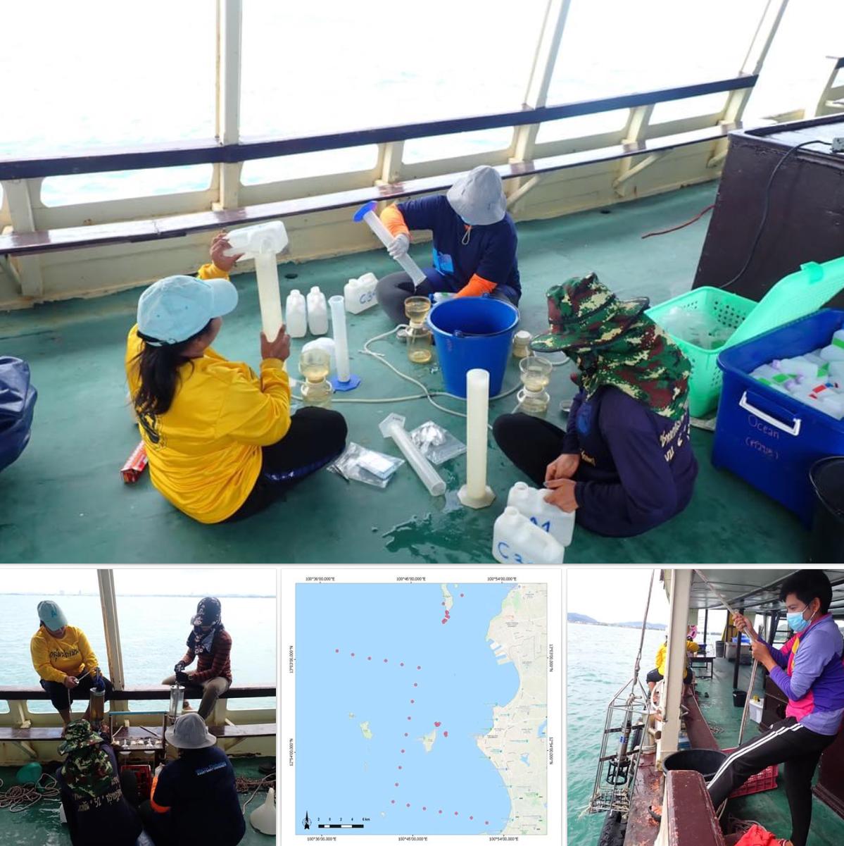 สำรวจคุณภาพน้ำทะเลหมู่เกาะชลบุรี อยู่ในเกณฑ์ปกติดี