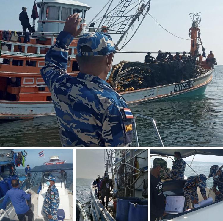 ตรวจเรือประมงกระบี่ เอกสารครบตามระเบียบ IUU
