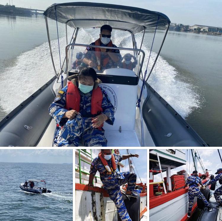 ตรวจเรือประมงชลบุรีและแปดริ้ว เอกสารครบตามระเบียบ IUU