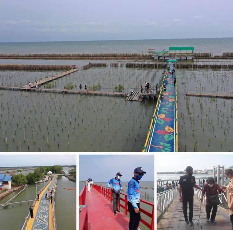 พาเที่ยวปลอดภัย สะพานรักษ์ทะเลบางขุนเทียน