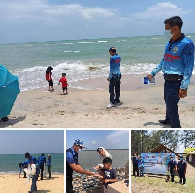 เที่ยวทะเลอ่าวไทยชายแดนใต้ นักท่องเที่ยวปลอดภัยดี