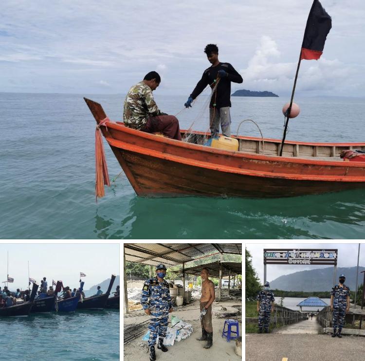 ลาดตะเวนทางทะเลระนอง สถานการณ์ทั่วไปปกติ