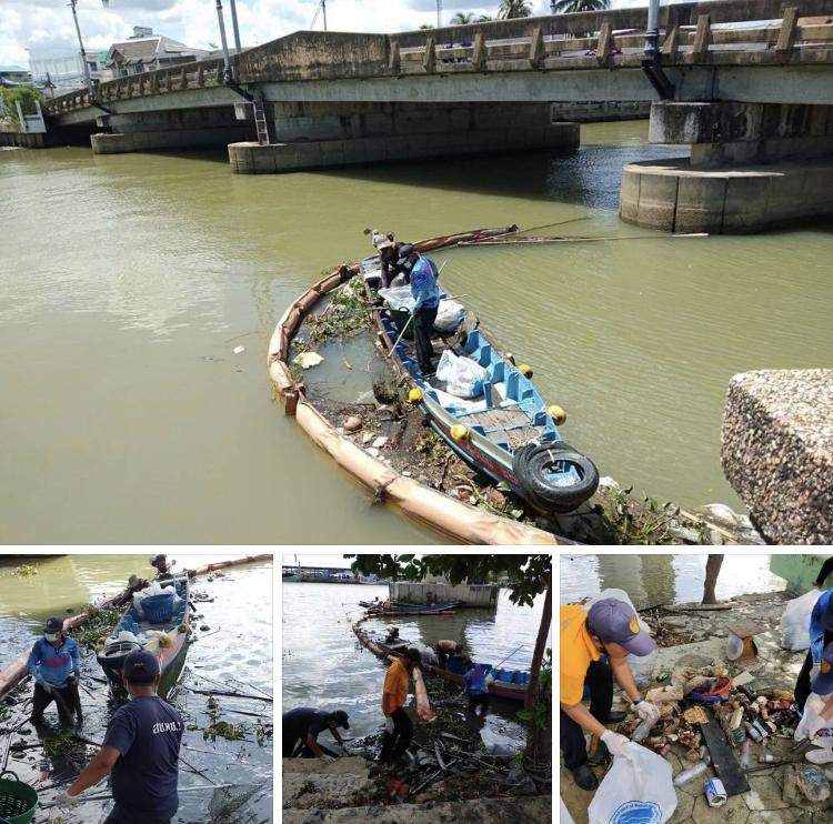 อาสาประมง พิชิตขยะแม่น้ำปัตตานีก่อนไหลลงสู่ทะเล