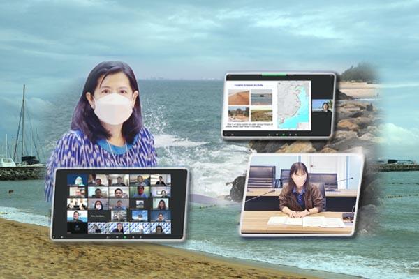 กรมทะเลฯ ร่วมประชุม Kick-off (Online) Meeting: CCOP-CGS Book Project on Coastal Erosion and Mitigation