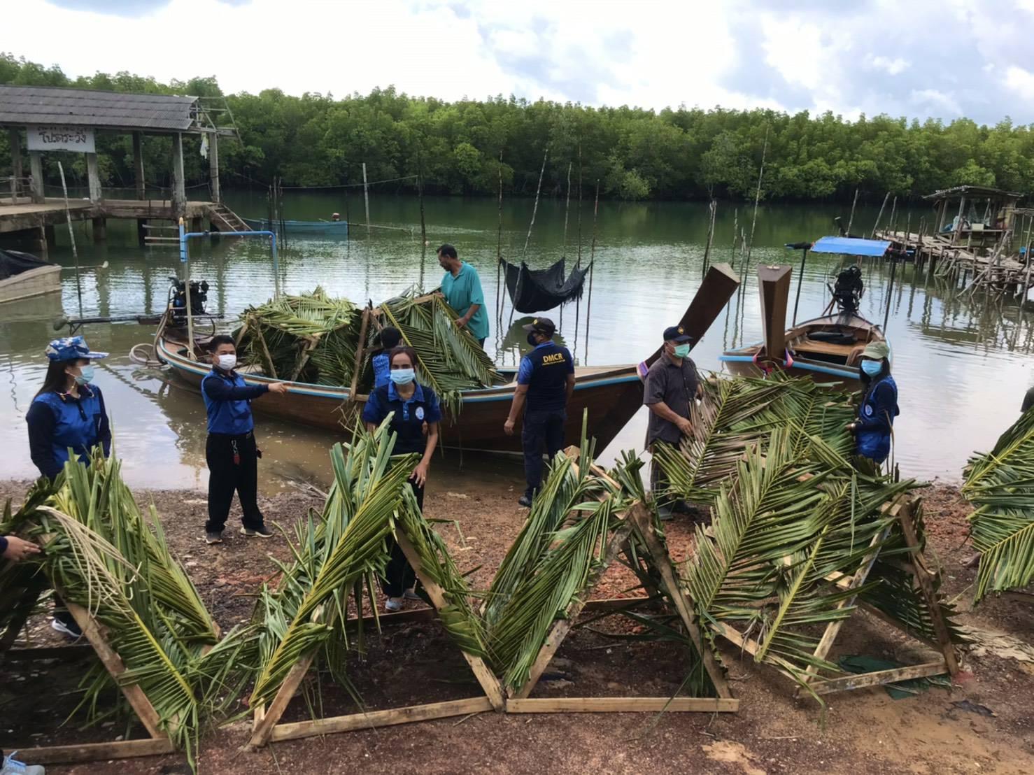 สทช.10 เพิ่มบ้านปลาสร้างแหล่งเลี้ยงชีพเพิ่มรายได้ชุมชนชายฝั่ง