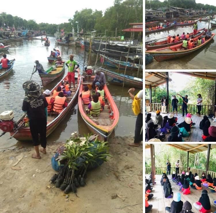 ร่วมชุมชนอนุรักษ์ป่าชายเลนตะโละกาโปร์ ปัตตานี