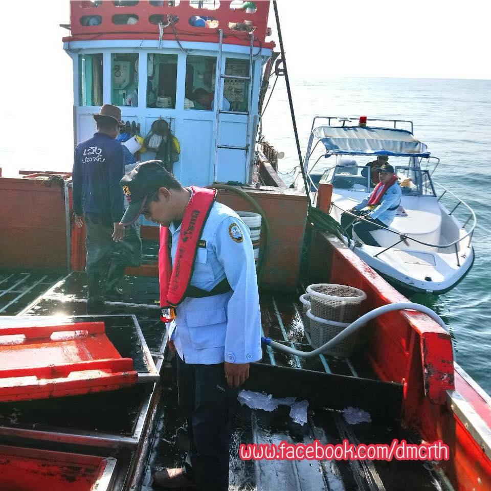 ตรวจเรือประมงเพชรบุรี ไม่พบผิดกฎหมาย