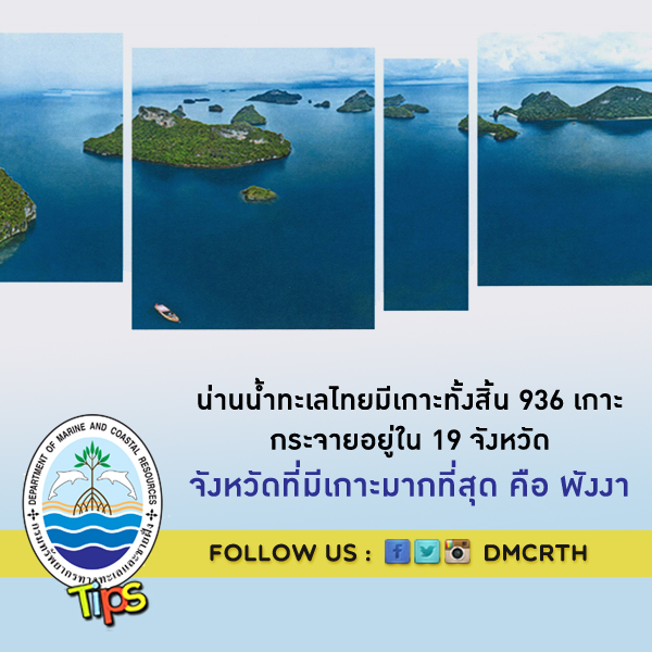 เกาะในน่านน้ำทะเลไทย