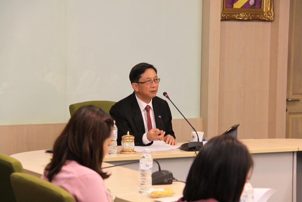 คณะทำงานด้านความร่วมมือระหว่างประเทศจัดประชุมหารือ ความก้าวหน้าในการดำเนินงาน