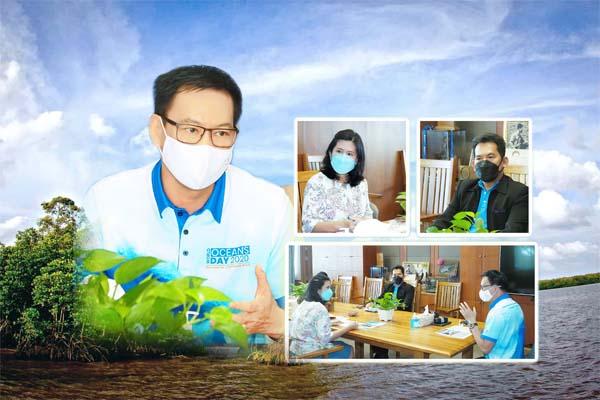กรม ทช. ประชุมติดตามผลการดำเนินงานของกองอนุรักษ์ทรัพยากรชายฝั่ง